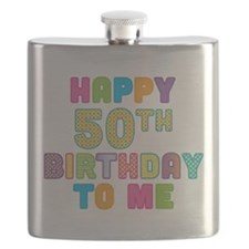 Happy 50th Birthday To Me.png Flask