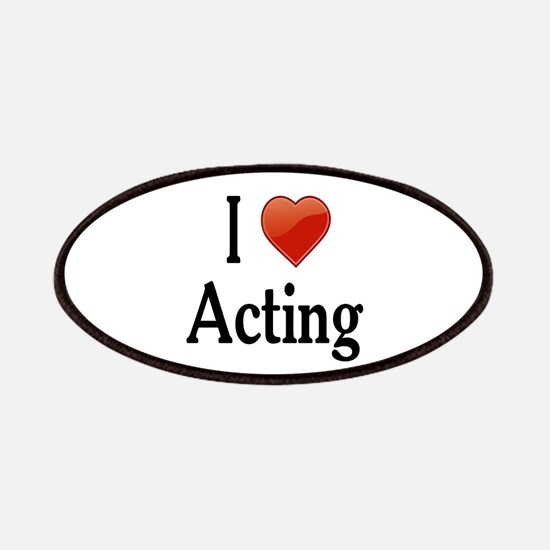 I Love Acting Patches