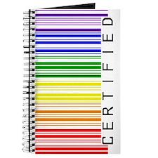 Certified Rainbow Bar Code Journal