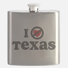 I Dont Heart Texas.png Flask
