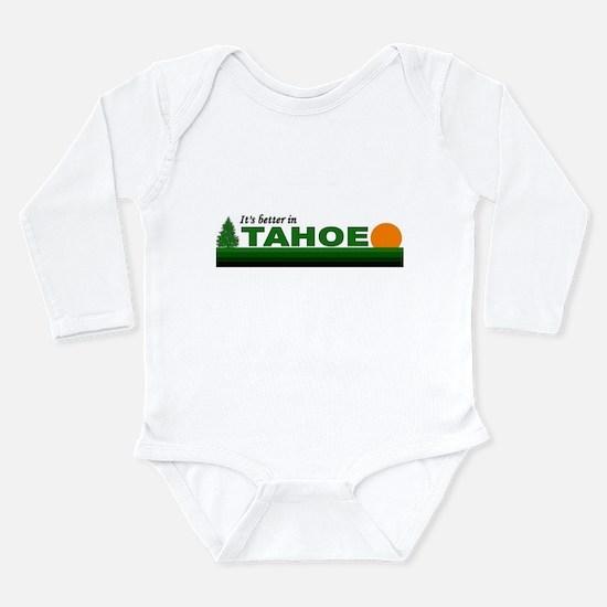 Cool Tahoe Long Sleeve Infant Bodysuit