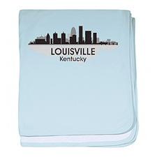 Louisville Skyline baby blanket