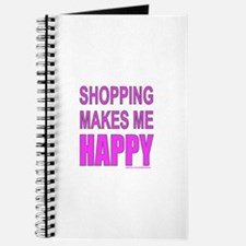 SHOPPING MAKES ME HAPPY Journal