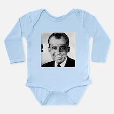 I am Not a Crook! Nixon Obama Long Sleeve Infant B