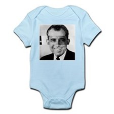 I am Not a Crook! Nixon Obama Infant Bodysuit