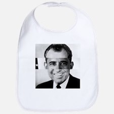 I am Not a Crook! Nixon Obama Bib