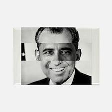 I am Not a Crook! Nixon Obama Rectangle Magnet