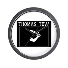 Thomas Tew Pirate Wall Clock