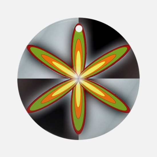 Hex Design Ornament (Round)