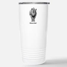 Rhinos Rule! Stainless Steel Travel Mug