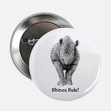 """Rhinos Rule! 2.25"""" Button"""
