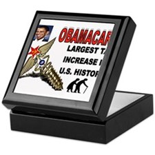 OBAMACARE SCREW.jpg Keepsake Box
