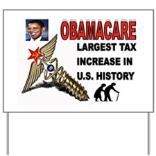 OBAMACARE SCREW.jpg Yard Sign