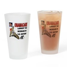 OBAMACARE SCREW.jpg Drinking Glass