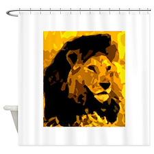 lionart Shower Curtain
