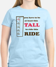Be This Tall-Brown Drk Pink T-Shirt