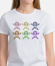 Baby Rainbow Sloths T-Shirt