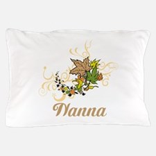 Nanna, Swirls and Leaves. Pillow Case