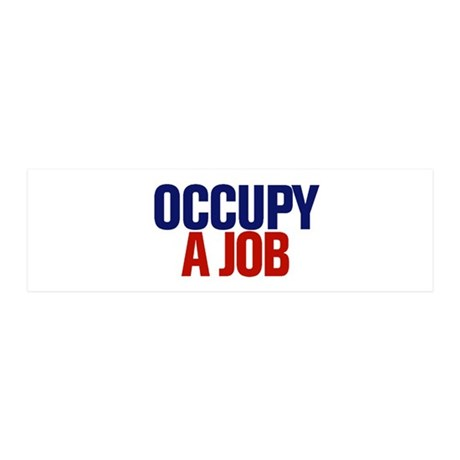 Occupy A Job 20x6 Wall Decal