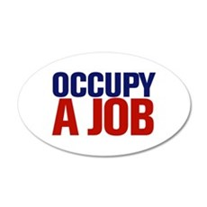 Occupy A Job Wall Decal