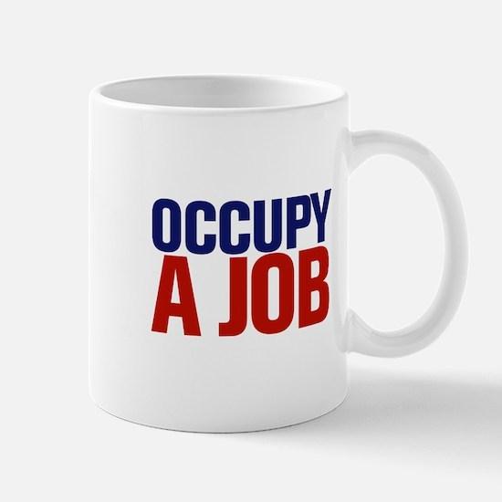 Occupy A Job Mug