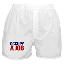 Occupy A Job Boxer Shorts