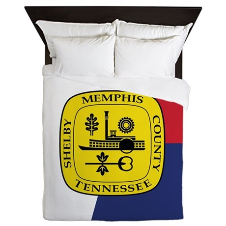 Memphis Flag Queen Duvet