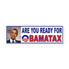 OBAMA TAX.jpg Car Magnet 10 x 3