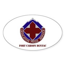 DUI - Fort Carson DENTAC with Text Decal