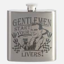 Gentlemen Start Your Livers Flask