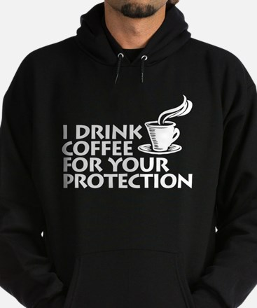 for your protection Hoodie (dark)