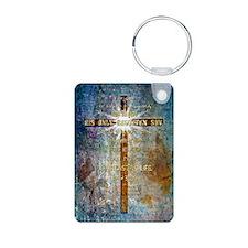 John 3:16 Aluminum Photo Keychain