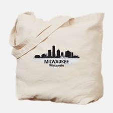 Milwaukee Skyline Tote Bag