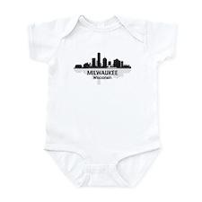 Milwaukee Skyline Infant Bodysuit