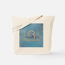 Vintage Milwaukee Flag Tote Bag