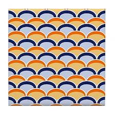 Art Deco Arches Tile Coaster