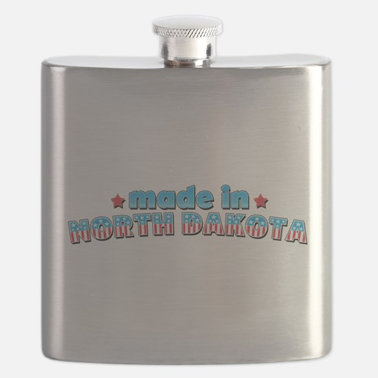 Made in North Dakota.png Flask