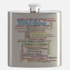 Proud Science Teacher Flask