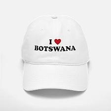 I Love Botswana Baseball Baseball Cap
