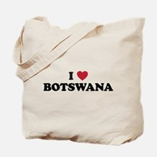 I Love Botswana Tote Bag