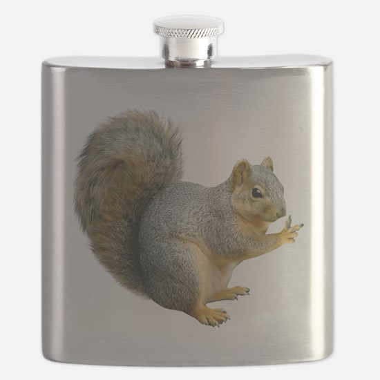 Peace Squirrel Flask