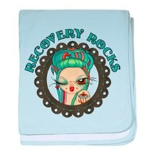 Recovery Rocks~2000x2000.png baby blanket