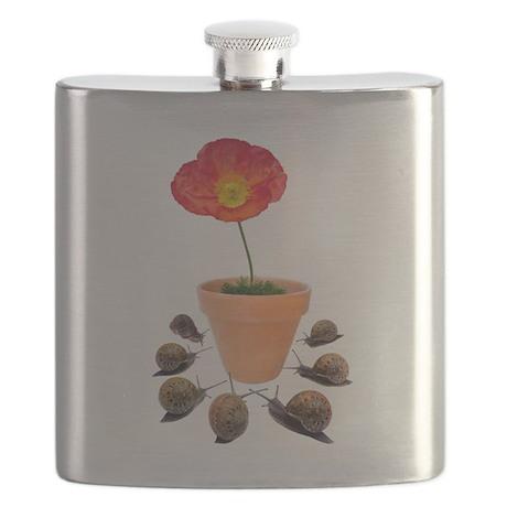 snails flowers2 copy.jpg Flask
