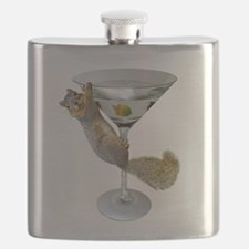Martini Squirrel Flask