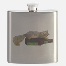 Squirrel Empty Bottle Flask