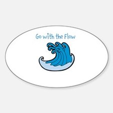 Go with the Flow - Wave Decal