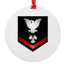 Navy PO3 Machinist's Mate Ornament