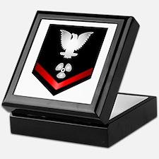 Navy PO3 Machinist's Mate Keepsake Box