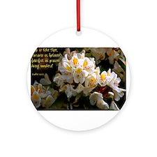 Exodus 15:11 Ornament (Round)