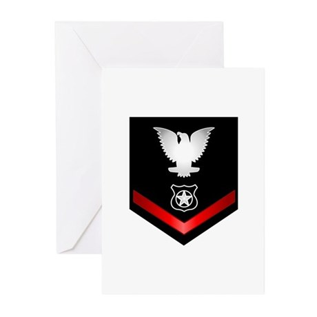 Navy PO3 Master at Arms Greeting Cards (Pk of 20)